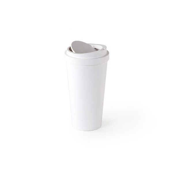 Micro Coffee Bin (White) by Qualy