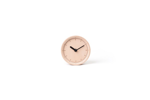 Milli: Table/Wall Clock (Beech) by Pana Objects