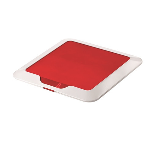 Slim Electronic Scale Red