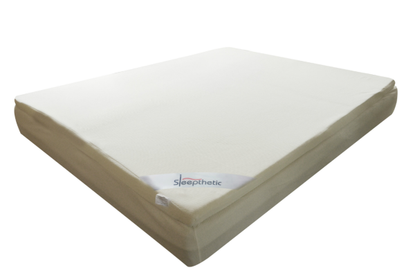 Sleepthetic™ Fitted Memory Foam Topper (Queen 2 Inch thick)