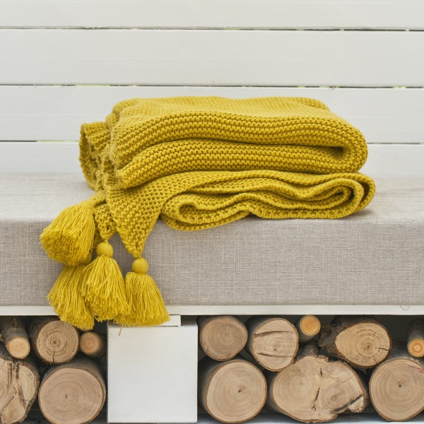 Zenna Throw (Yellow)