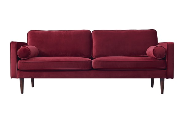 Lawson 3-Seater Sofa (Red)