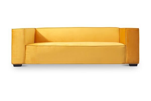 Perci 3-Seater Sofa (Bright Orange)