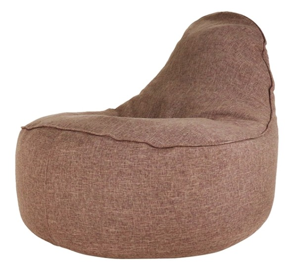 Ringo Bean Bag Sofa in Coffee Brown