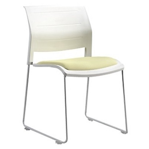 Sheldon Link & Stackable PU Seat Chair