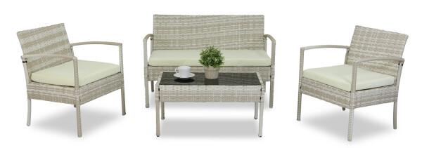 Lazio Sofa Set (Cream)