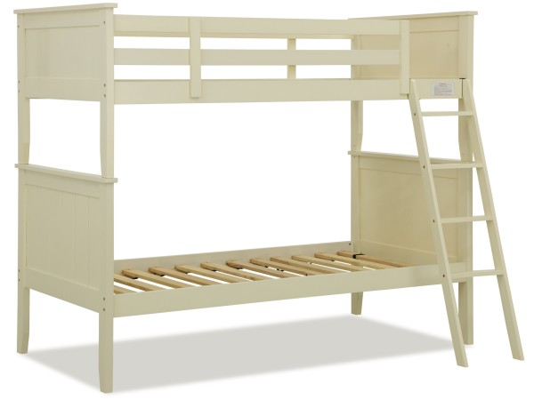 Agatha Wooden Bunk Bed Antique White