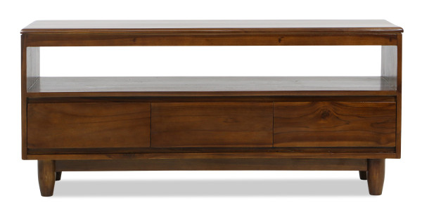 Art Deco TV Console 3 Drawer