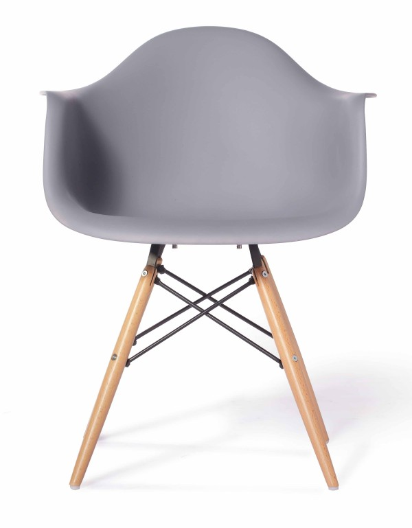 eames replica designer arm chair light grey furniture home d cor fortytwo. Black Bedroom Furniture Sets. Home Design Ideas