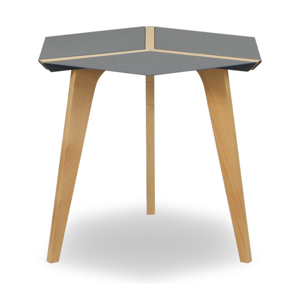 Amadeo Hexagon Steel top table