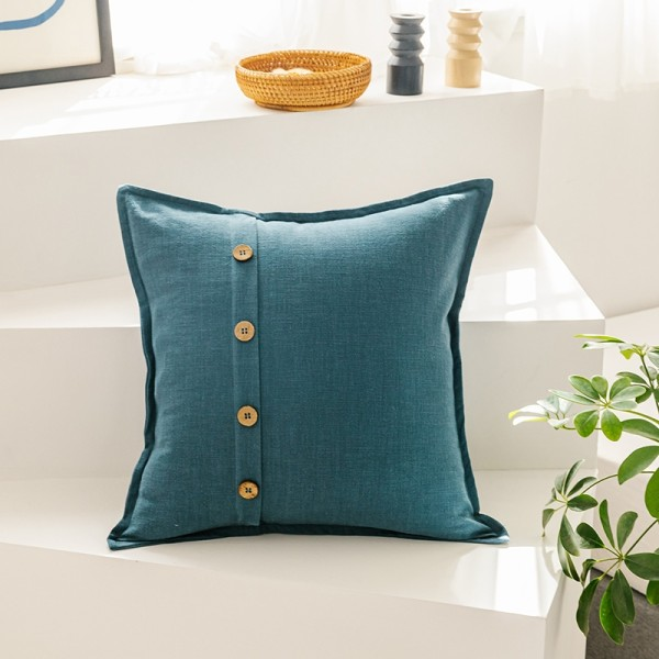Aggie Cushion (Teal)