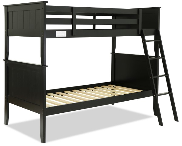 Agatha Wooden Bunk Bed Black