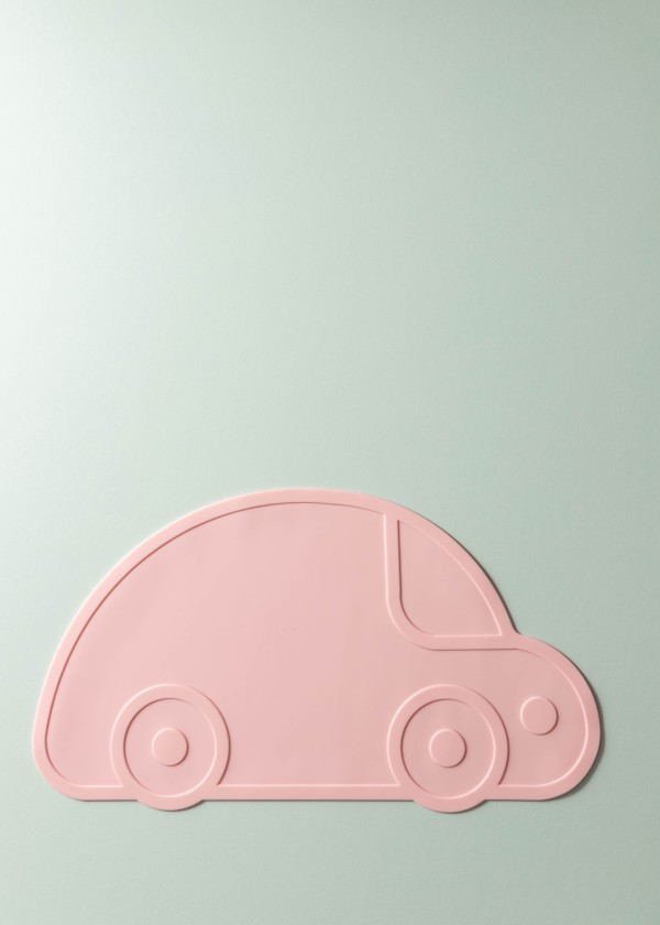 Jaeven Silicone Car Placemat (Rose Pink)