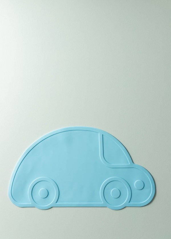 Jaeven Silicone Car Placemat (Sky Blue)