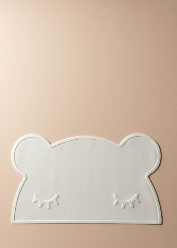 Laney Silicone Bear Placemat (White)
