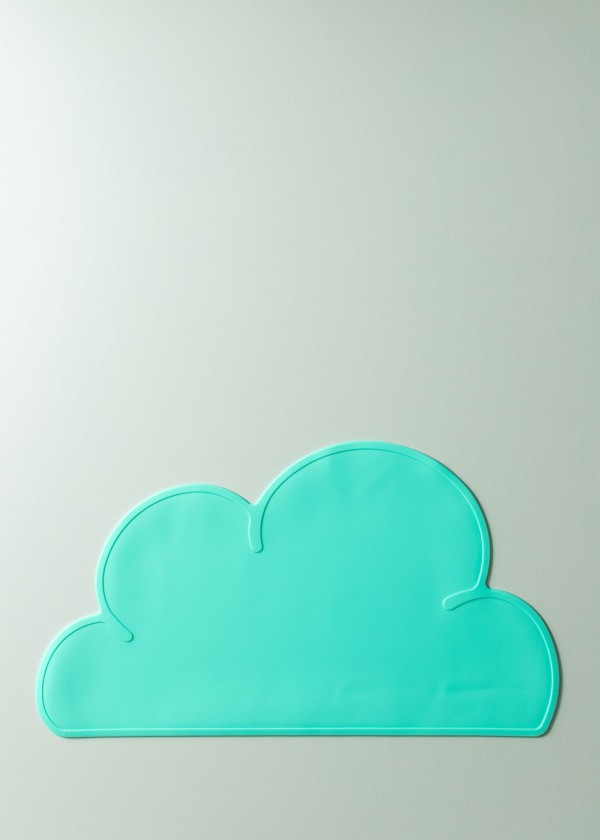 Mika Silicone Cloud Placemat (Mint)
