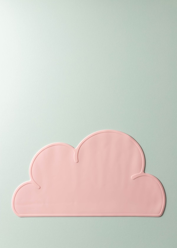 Mika Silicone Cloud Placemat (Rose Pink)
