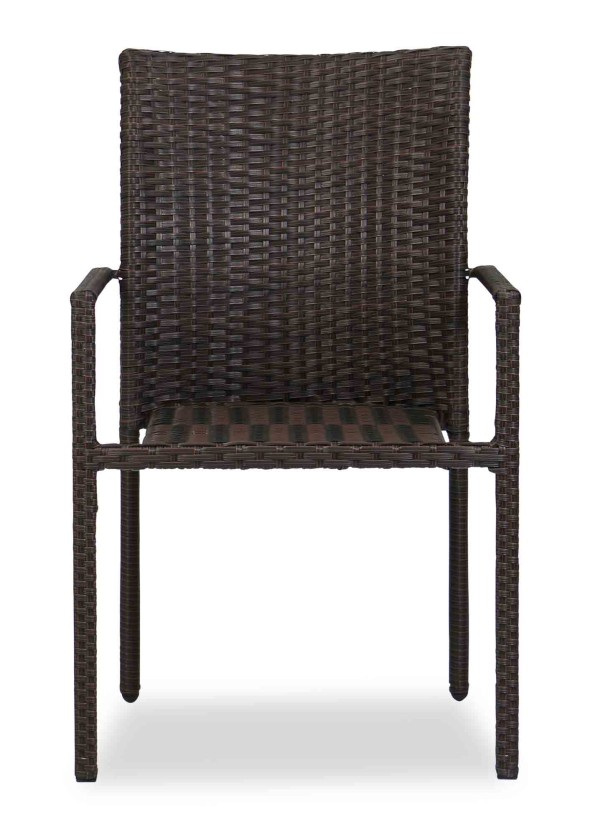 Wakiky Outdoor Dining Chair Brown