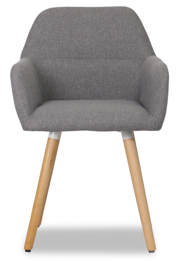 Kunthea Armchair (Light Grey)