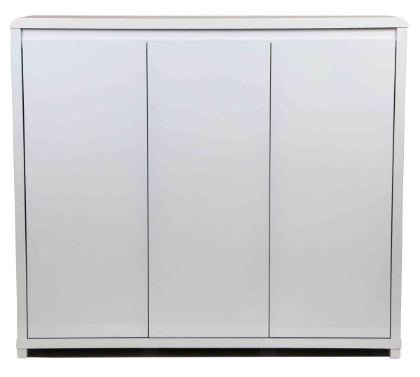 Prudence 3 Door Shoe Cabinet White