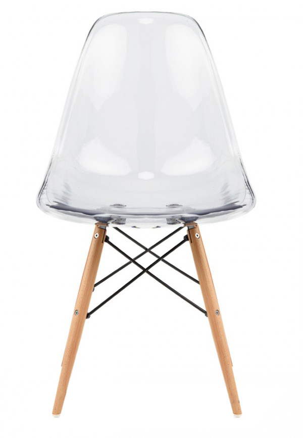 Eames Clear Replica Designer Chair Furniture Home D Cor FortyTwo