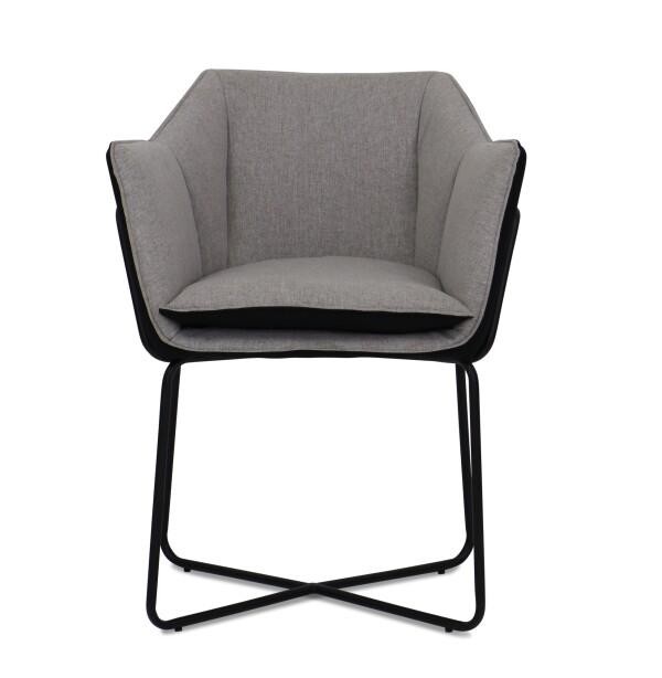Sidney Armchair in Light Grey