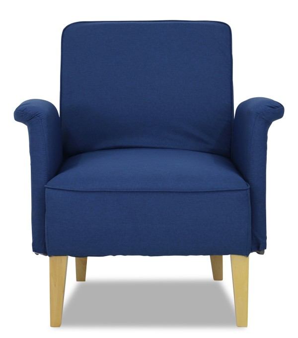 Marzena Arm Chair (Midnight Blue)