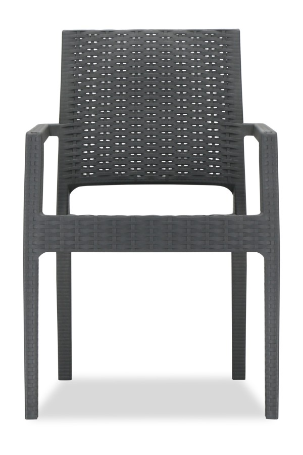 Landon Arm Chair (Grey)