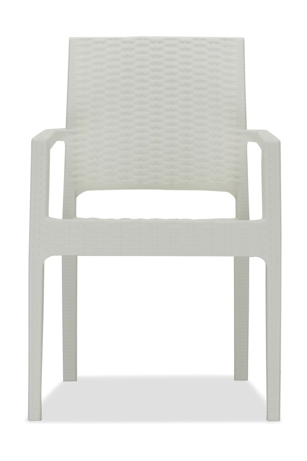 Landon Arm Chair Off White