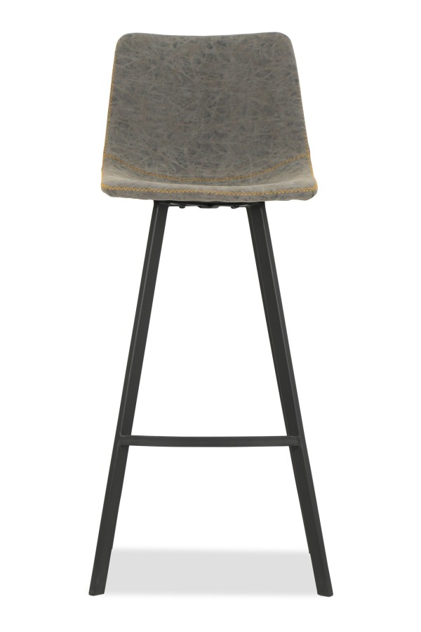 Denica Bar Chair (Slate Grey)