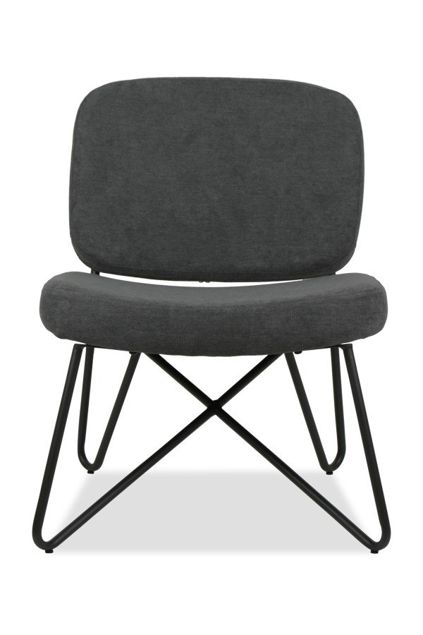 Marcy Designer Chair (Charcoal)