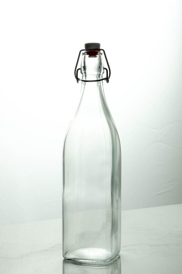 Swing Glass Bottle 1000ml (Clear)
