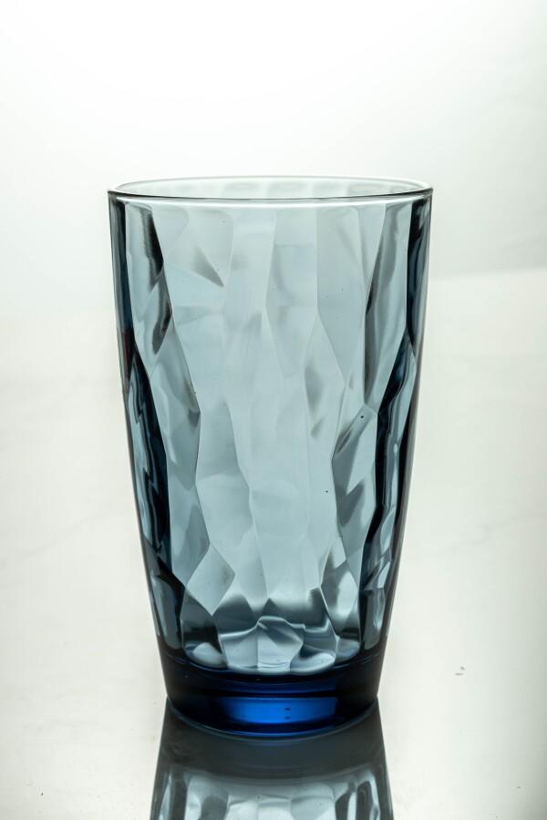 Diamond Cooler Glass 470ml (Ocean Blue)