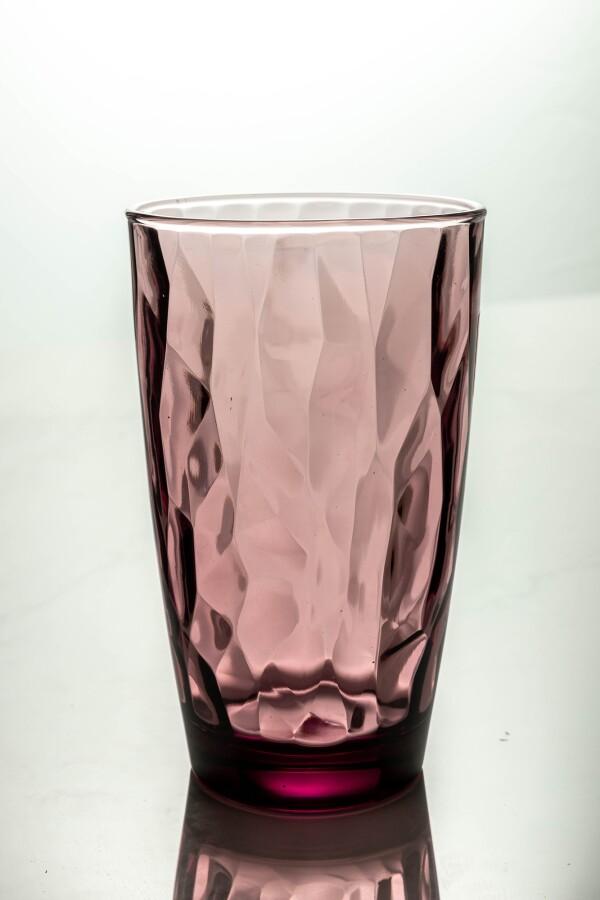 Diamond Cooler Glass 470ml (Rock Purple)