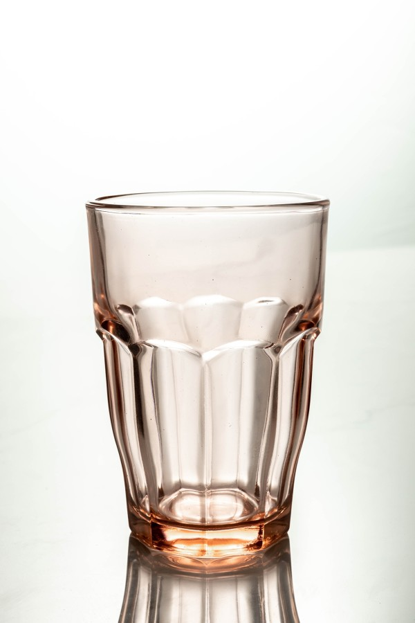 Rock Bar Lounge Long Drink Glass 370ml (Peach)