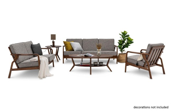 Ivona Wooden Modular Sofa Set
