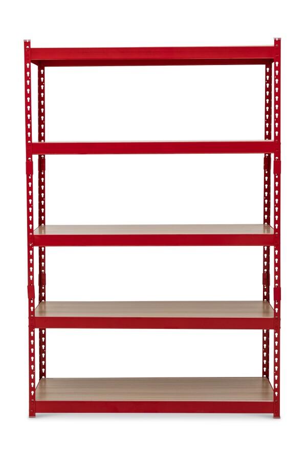 Bardrick Large Open Shelves (Red)