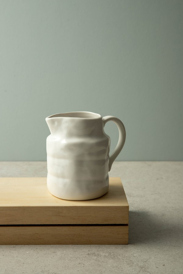 Colby Milk Jug Small (White)