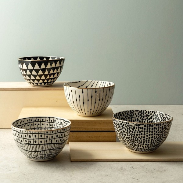 Beverly 4-Piece Rice Bowl Set