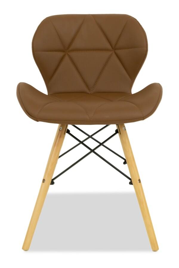 Hideki Replica Designer Chair (Light Brown)