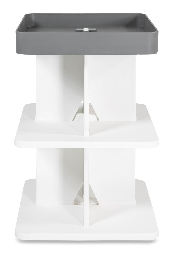 Pinnel Side Table in Grey