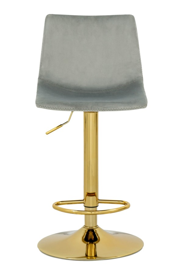 Celestia Bar Chair in Grey