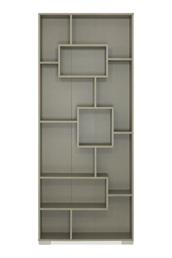 Pippa Display Cabinet in Grey