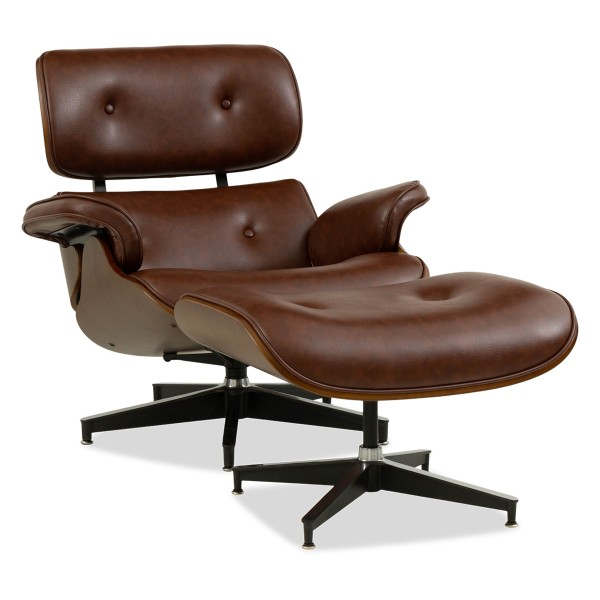 Jacob Lounge Chair (Brown)