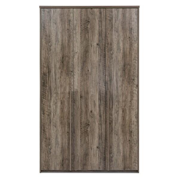 Alvis 3 Door Wardrobe in Ash Oak