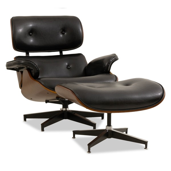 Jacob Lounge Chair (Black)