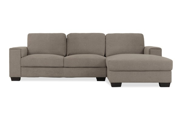 Valencia 3 Seater L Shape-Rest Section on LEFT Side when Seated (Cappuccino)