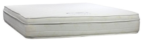 SleepMed Indulge EuroTop Bonnell Spring Memory Foam Mattress (Queen Size)