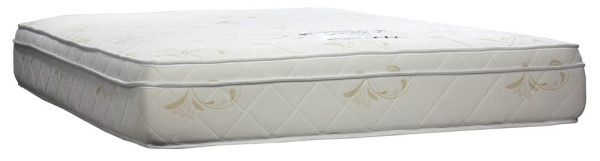 SleepMed Indulge EuroTop Pocketed Spring Memory Foam Mattress (Queen Size)