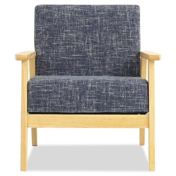 Hans 1 Seater Sofa (Starry Blue)